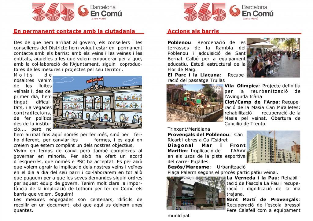 A5 de 365 dies al districte 2a versió dins